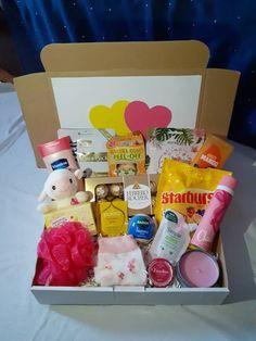 Hampers For Her, Gift Hampers, Gift Baskets, Birthday Hampers, Birthday Box, Birthday Ideas, Hamper Ideas, Hamper Basket, Bff Gifts