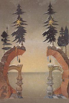 Christmas (Noel), 1946, Salvador Dali
