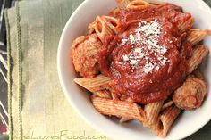 Slow Cooker Spaghetti Sauce by MommyNamedApril, via Flickr