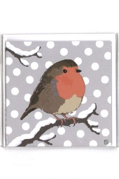 A pack of 6 Christmas cards with a 'robin in the snow' design by Emily Burningham. Available for £4 from our shop: http://www.liverpoolmuseums.org.uk/onlineshop/seasonal-christmas/christmas-cards/robin-in-snow-cards.aspx