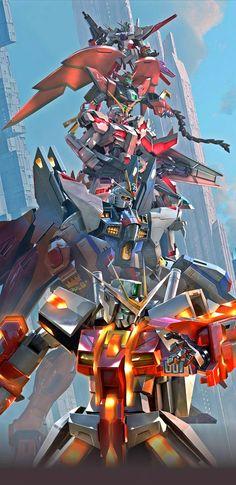 Gundam Wallpapers, Dope Wallpapers, Gundam 00, Gundam Wing, Transformers, Samurai Artwork, Gundam Mobile Suit, Unicorn Gundam, Gundam Custom Build