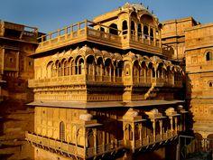 Jaisalmer Fort-Palace, Jaisalmer, Rajasthan, India https://www.facebook.com/IndiaWithKrystal
