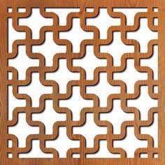 Puzzle Laser Cut Pattern — Lightwave Laser