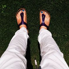 Birkenstock Gizeh, Sandals, Instagram, How To Wear, Shoes, Fashion, Moda, Shoes Sandals, Zapatos