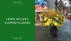 fourfancy Magazine: Urban flowers - Lewis Miller