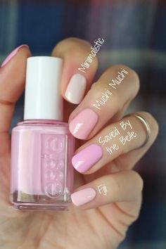 Nail Colors, Nail Polish Trends, Nail Care & At-Home Manicure Supplies by Essie. Shop nail polishes, stickers, and magnetic polishes to create your own nail art look. Uv Gel Nagellack, Nagellack Trends, Spring Nail Colors, Spring Nails, Summer Nails, Summer Nail Polish Colors, Light Pink Nail Polish, Pink Polish, Cute Nails
