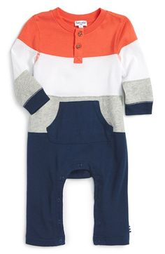 Splendid Stripe Romper (Baby Boys) available at #Nordstrom