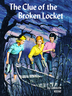12. The Clue of the Broken Locket - 1962 Edition  Another vacation turns into a riddle for Nancy to solve while she visits a lakeside holiday spot.    Read more: Original Nancy Drew Books in Order - Summary of Nancy Drew Mysteries - Country Living