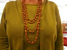 Kickis hantverkstips: Halsband av brunabönor