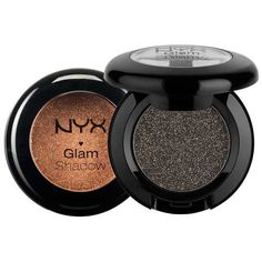 The NYX Glam Shadow shades are packed with intense colors and sparkles. The…