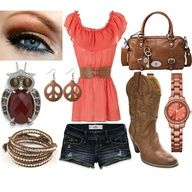 fun country girl outfit