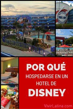 Beneficios de hospedarse en un hotel de disney