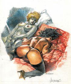 Dc Comic Books, Comic Art, Westerns, Serpieri, Art Pages, Marvel Comics, Original Art, Art Gallery, Alternative Comics