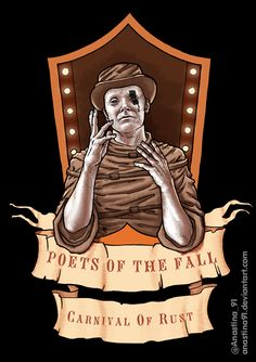 Poets Of The Fall - Carnival of Rust 2015 by on DeviantArt Fall Wallpaper, Kawaii Wallpaper, The Fall Band, Fall Drawings, Best Music Artists, Fall Carnival, Poets Of The Fall, Chula, Autumn Art