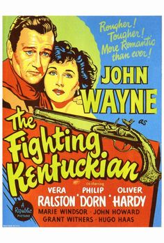 THE FIGHTING KENTUCKIAN (1949) - John Wayne - Movie Poster