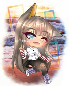 New Roblox Robux hack is finally here and its working on both iOS and Android platforms. Anime Wolf Girl, Anime Art Girl, Manga Girl, Anime Girls, Anime Girl Drawings, Cute Kawaii Drawings, Cute Anime Chibi, Kawaii Anime Girl, Cute Characters