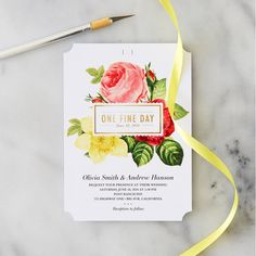 Invitatii nunta rotunde Happily ever after Pinterest Wedding