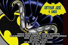 Convite digital personalizado Batman 002