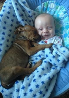Oh my puppy baby love heaven.Cute Kids and Pets: best friends cuddling Animals For Kids, Cute Baby Animals, Animals And Pets, Funny Animals, Baby Puppies, Baby Dogs, Cute Puppies, Doggies, Puppy Cuddles