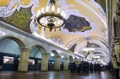 Estaciones de Metro Futuristas
