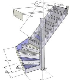57 Super Ideas For Cabin Loft Stairs Bedrooms Home Stairs Design, Interior Stairs, House Design, Master Bedroom Closet, Bedroom Doors, Master Bedrooms, Master Suite, Bedroom Closets, Bathroom Closet
