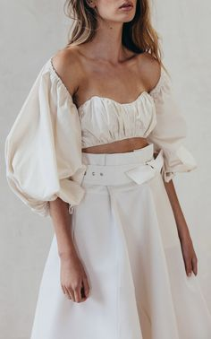 Angie Paper Bag Skirt by CULT GAIA for Preorder on Moda Operandi