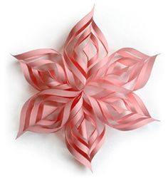 Simple paper star, but great way to dress up a space. Good combined or in seperare segments.