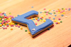 Greek letter cookie cutters! Great for Rush or Fundraising events!