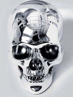 Iron skull.