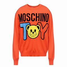 Moschino MOSCHINO TOY Print Long Sleeve Sweater