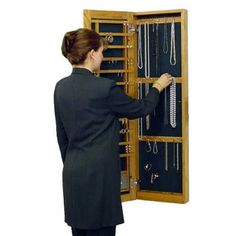 (click twice for updated pricing and more info) Locking Jewelry Armoires - Surface Wall-Mounted Wooden Jewelry Armoire http://www.plainandsimpledeals.com/prod.php?node=46827=Locking_Jewelry_Armoires_-_Surface_Wall-Mounted_Wooden_Jewelry_Armoire_-_MCW003 #jewelry_armoires