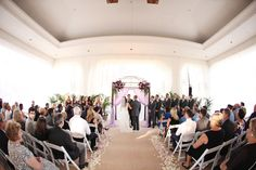 Coordination: @agapeplanning  Photography: @Angela Mae Photography | http://www.angelamaephotography.com/ Florals: @Flowersbycina Draping: The Finishing Touch Wedding Design Venue: The Waterfront Beach Resort, A Hilton Hotel  | Weddings | Waterfront Wedding | The Veranda | Ocean View | Huntington Beach | OC Weddings | LA Weddings | Arch | Wedding Arch | Ceremony
