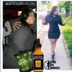 """That """"POWER DUO"""" is taking the weight off. Order your Resolution Drops and Iaso Tea today!  INBOX ME or visit www.detoxwithann.com to Get Your Power Duo now!!"""