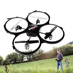UDI U818A HD Drone with Camera and Headless Mode -2.4Ghz RC Camera Drone Quadcopter - with Extra Battery and Power Bank