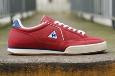 Le Coq Sportif Noah Comp | Red, Blue & Gum