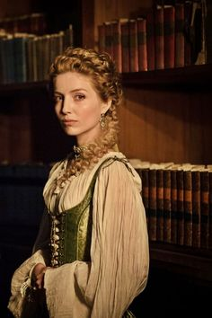 Annabelle Wallis as Ninon de Larroque in The Musketeers (TV Series, Period Costumes, Movie Costumes, The Musketeers Tv Series, Adele, Milady De Winter, Annabelle Wallis, Medieval Clothing, Medieval Dress, Period Outfit