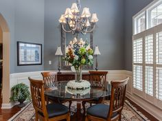 Attractive-Dining-Room-Traditional-design-ideas-for-Slate-Blue-Walls-Decor-Ideas.jpg 990×742 pixels