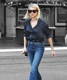 The shoe style that Emma Roberts can't get enough of