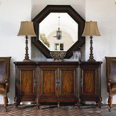 Thomasville® Ernest Hemingway  Serving Table w/ 4 Doors