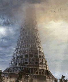 Así sería la Torre de Babel, del antiguo Imperio Babilónico.