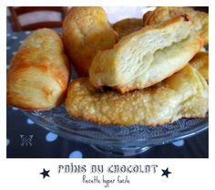 Recette testée et approuvée ici : http://leplaisirdegourmandise.blog4ever.com/pains-au-chocolat-bons-comme-a-la-boulangerie-en-15mnla-recette