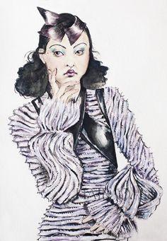 Schon Magazine: Personal work featured in artist interview.