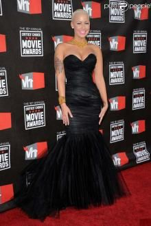 Celebrity Dresses Amber Rose Black Strapless Mermaid Prom Formal Dress at the annual Critics' Choice Movie Awards Amber Rose, Unique Dresses, Sexy Dresses, Evening Dresses, Formal Dresses, Oscar Dresses, Wedding Dresses, Red Mermaid Dress, Mermaid Prom Dresses