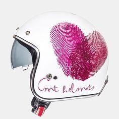 MT Le Mans sv LOVE Helmets. *DOT//ECE*