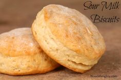 Classic Buttermilk Biscuits made that can be made with soured raw milk - a great way to use up all your extra raw milk! | NourishingJoy.com