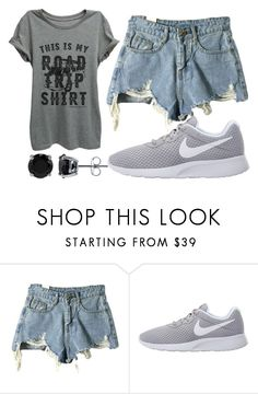 """""""Olivia Taylor 4"""" by hannah-graves ❤ liked on Polyvore featuring Thread Tank, NIKE and BERRICLE"""