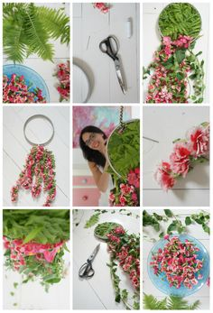 Flower dream catcher by Happy-Place.pl