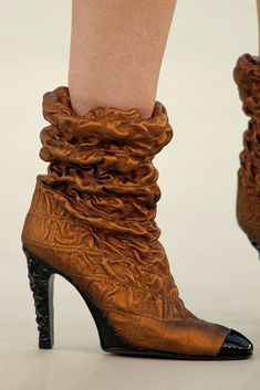 11a8af56e Chanel Fall 2010 Couture Collection - Vogue Sexy Boots, Couture Collection,  Shoe Collection,