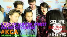 Cast of Hunter Street interviewed at 2017 Kid's Choice Awards Red Carpet Serie Tv, Tv Series, Hunter Street, Youtuber, Choice Awards, Hunters, Persona, Places To Travel, Red Carpet