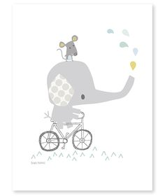 Smile, It's Raining Olifant - Poster